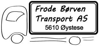 FRODE BØRVEN TRANSPORT AS