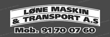 LØNE MASKIN & TRANSPORT AS