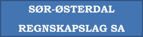 Sør-Østerdal Regnskapslag SA